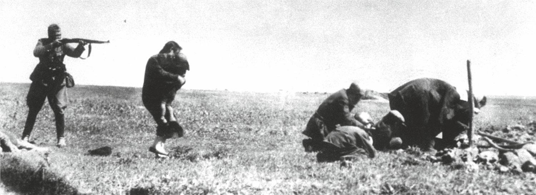 Расстрелы евреев во время Холокоста